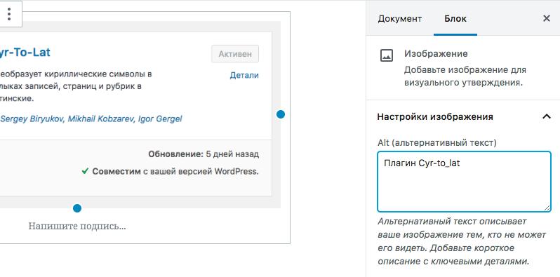 Как поставить атрибут Alt у изображений в WordPress