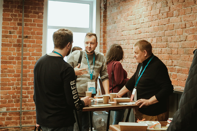 Александр Сокирка на WordCamp Saint Petersburg 2019