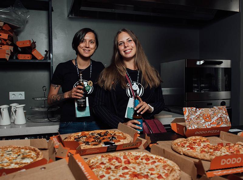 Волонтёры на WordCamp Saint Petersburg 2019